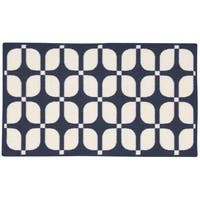 """Waverly Fancy Free and Easy Unparralleled Ocean Area Rug by Nourison (1'10 x 4'6) - 1'10""""x4'6"""""""