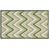 Waverly Fancy Free and Easy Sand Art Celery Area Rug by Nourison (2'6 x 4') - 2'6 x 4'
