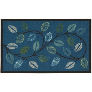 Waverly Fancy Free and Easy Leaflet Ocean Area Rug by Nourison (1'8 x 2'10)