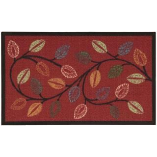 Waverly Fancy Free and Easy Leaflet Cordial Area Rug by Nourison (2'6 x 4')