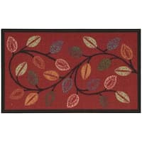 Waverly Fancy Free and Easy Leaflet Cordial Area Rug by Nourison - 2'6 x 4'