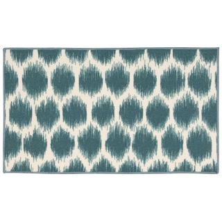 Waverly Fancy Free and Easy Seeing Spots Turquoise Area Rug by Nourison (1'8 x 2'10)