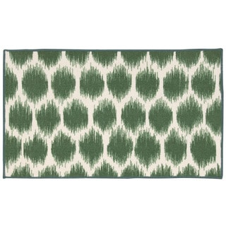 Waverly Fancy Free and Easy Seeing Spots Emerald Area Rug by Nourison (1'8 x 2'10)