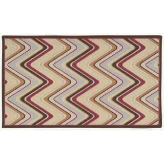 Waverly Fancy Free and Easy Sand Art Multicolor Area Rug by Nourison (2'6 x 4')