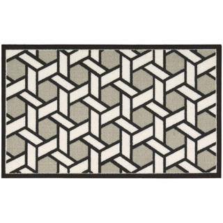 Waverly Fancy Free and Easy Shoji Stone Area Rug by Nourison (2'6 x 4')