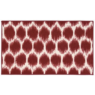 Waverly Fancy Free and Easy Seeing Spots Red Area Rug by Nourison (1'8 x 2'10)