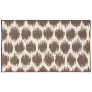 Waverly Fancy Free and Easy Seeing Spots Mocha Area Rug by Nourison (1'8 x 2'10)