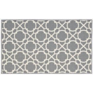 Waverly Fancy Free and Easy Perfect Fit Stone Area Rug by Nourison (2'6 x 4')