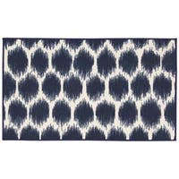 Waverly Fancy Free and Easy Seeing Spots Azure Area Rug by Nourison (1'8 x 2'10)