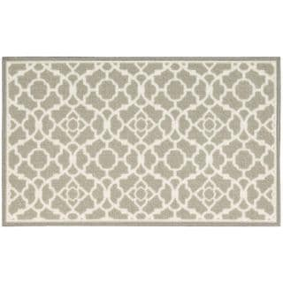 Waverly Fancy Free and Easy Lovely Lattice Stone Area Rug by Nourison (1'10 x 4'6)
