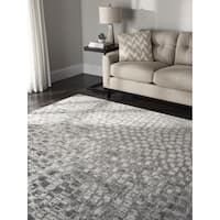 Nourison Twilight Cream Rug - 7'9 x 9'9'