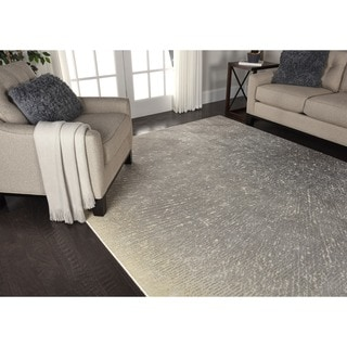 Nourison Twilight Grey/Ivory Rug (7'9 x 9'9)