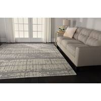 Nourison Twilight Ivory Abstract Rug (7'9 x 9'9) - 7'9 x 9'9