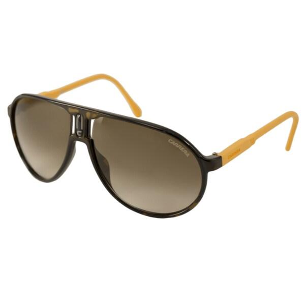 30056a64b98c Shop Carrera Champion Rubber Men's/ Unisex Aviator Sunglasses - Free ...