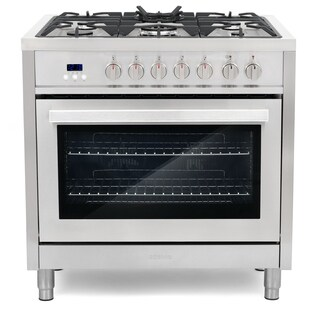 Cosmo F965 36-inch Freestanding/ Slide-in Dual Fuel Range