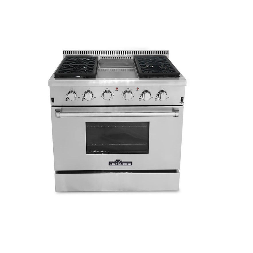 Thor Kitchen Professional 36-inch Stainless Steel (Silver...