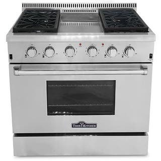 Thor Kitchen Professional 36-inch Stainless Steel Gas Range with Center Griddle https://ak1.ostkcdn.com/images/products/10306097/P17418643.jpg?impolicy=medium