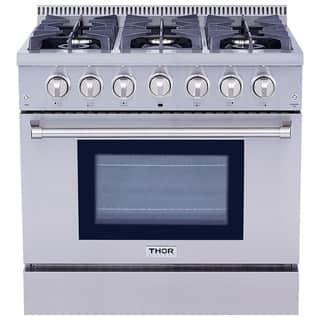 Thor Kitchen HRG3618U 36-inch 6-burner Professional Style Gas Range|https://ak1.ostkcdn.com/images/products/10306098/P17418644.jpg?impolicy=medium