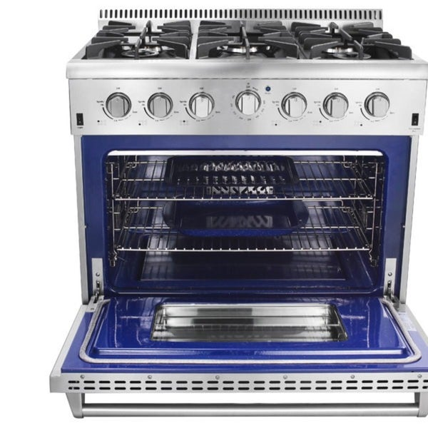 36 electric stove double oven professional style gas range burners hrg18u cooktop