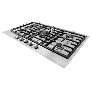 Cosmo 34-inch Stainless Steel Gas Cooktop (va-s950m)