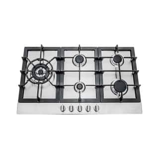 Cosmo 30-inch Stainless Steel Gas Cooktop (850sltx-e)|https://ak1.ostkcdn.com/images/products/10306101/P17418647.jpg?impolicy=medium