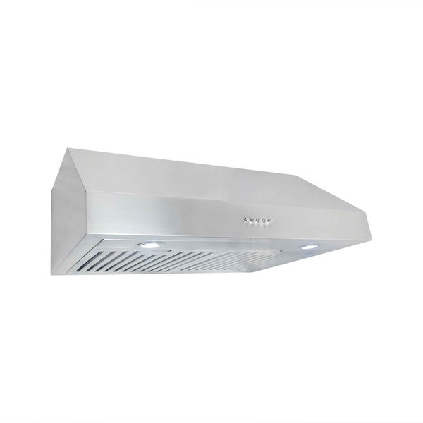 cosmo uc30 30 inch 760 cfm ducted under cabinet stainless steel range hood free shipping today. Black Bedroom Furniture Sets. Home Design Ideas