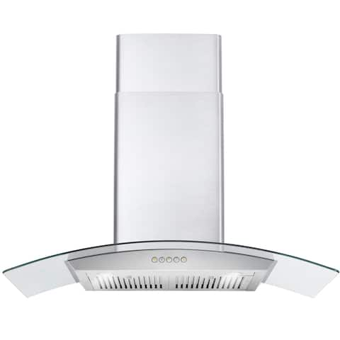 Cosmo 668A900 36-inch Stainless Steel Wall Mount Range Hood
