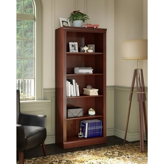kathy ireland Office Bennington 5 Shelf Bookcase