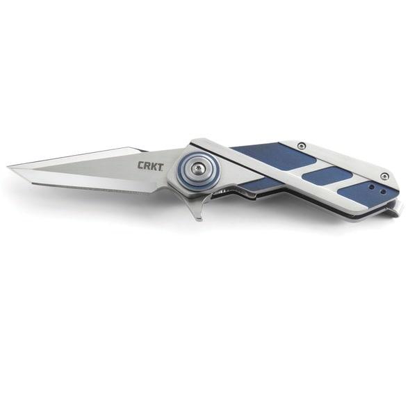 CKRT Deviation Folding Knife Dual Blade Handle Blade 3.10-inch