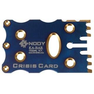 Ka-bar Snody Crisis Card