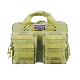 G.P.S. Tactical Quad + 2 Pistol Case Tan