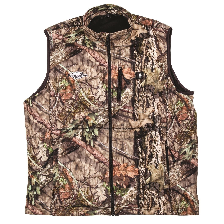 Flambeau Heated Vest Camo (Green) (Heated Vest, Xlarge), ...