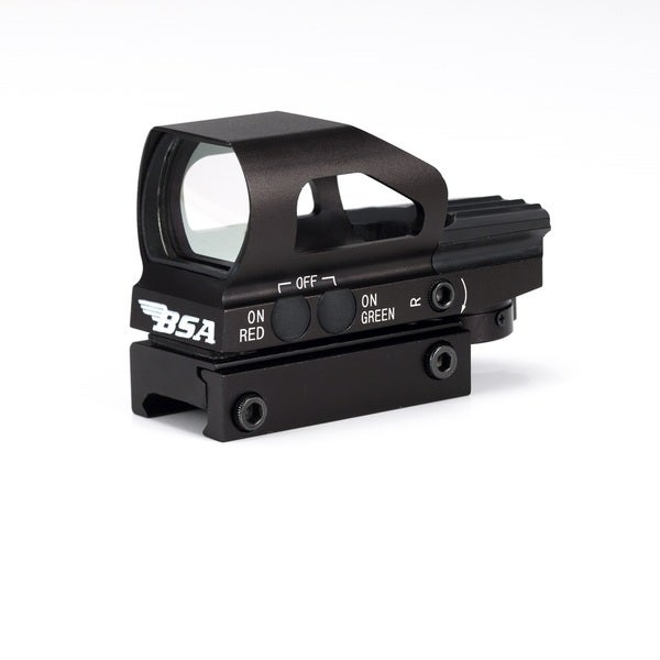 BSA Digital Panoramic Site Red and Green with 4 Reticles