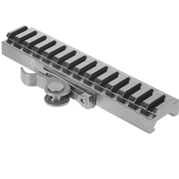 Aimshot Mt61172-140lp 140mm Low Profile Quick Release Rail