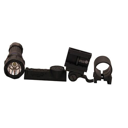 Aimshot Tx890-wh White Wireless Flashlight with Qr Mount Kit
