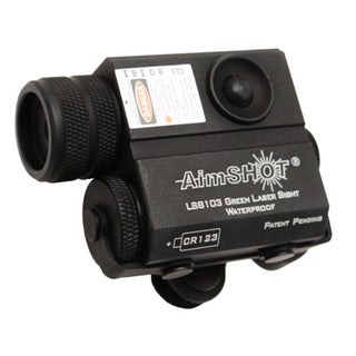 Aimshot Kt8103 Green Laser Rifle Sight Compact