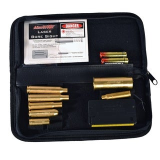 Aimshot Kt Master Green Laser Bore Sight Master Rifle Kit