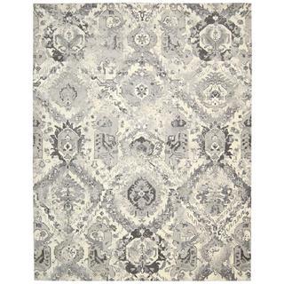 Nourison Twilight Ivory/Grey Rug (8'6 x 11'6)