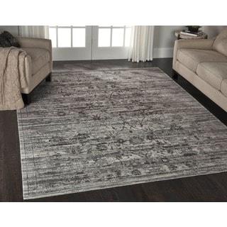 Nourison Twilight Silver Rug (8'6 x 11'6)
