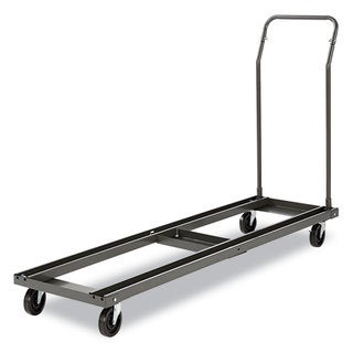 Alera Black Folding Table Cart