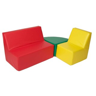 Foamnasium Straight Back Seating Group Kid's Chair and Sofa