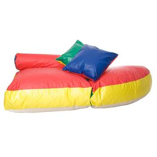 Foamnasium Soft-E-Lounge: Shredded Foam Bean Bag Kid's Furniture - Soft, Comfortable, Durable