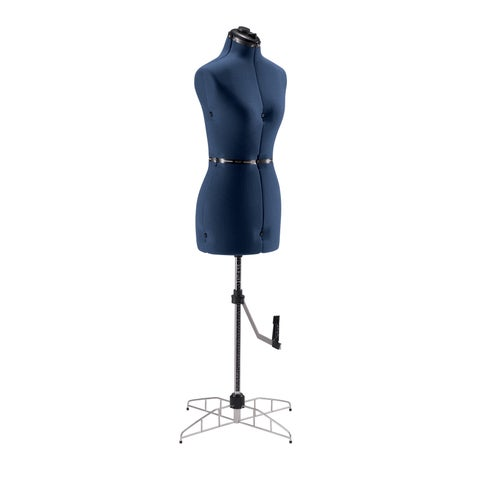Singer Adjustable Small/Medium Blue Professional Dress Form