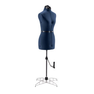 Singer Adjustable Medium/Large Blue Professional Dress Form