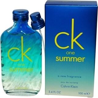 Calvin Klein Ck One Summer Women's 3.4-ounce Eau de Toilette Spray