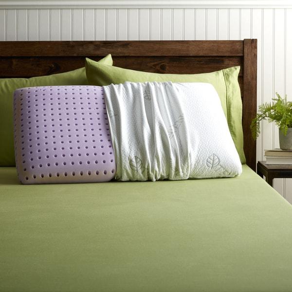 Blu Sleep Aquagel Gel Memory Foam Pillow with Cover