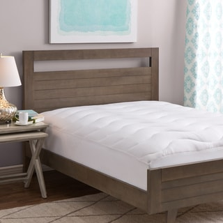 Shop Grandeur Collection Coolmax Plush Mattress Pad On