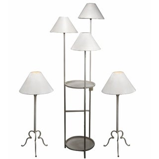 Wendy Table Lamps and Floor Lamp (Set of 3)