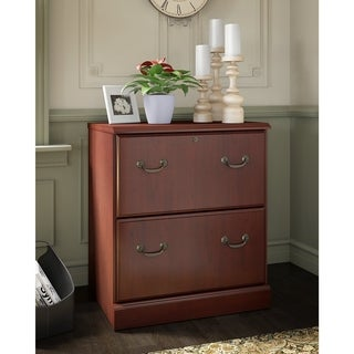 Kathy Ireland® Office Bennington 2 Drawer Lateral File In Cherry