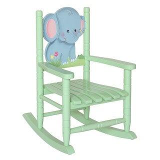 Teamson Kids Safari Elephant Rocking Chair
